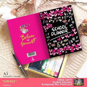 SCHOOL PLANNER - PINKY