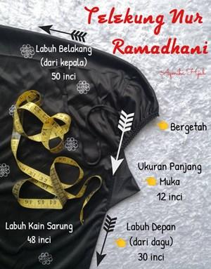 Telekung Nur Ramadhani