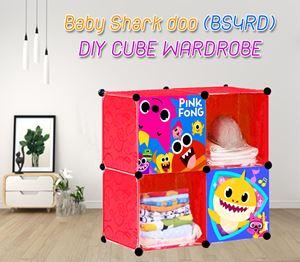 Baby Shark Doo (BS4RD) 4C DIY CUBE WARDROBE