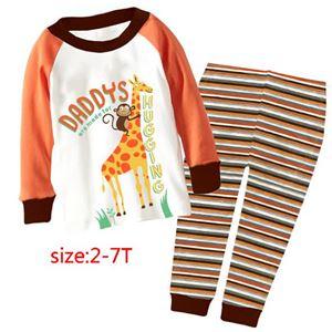 8540 Cuddleme 'Giraffe' PYJAMA (2T-7T)