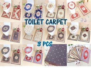 TOILET CARPET 3 PCS