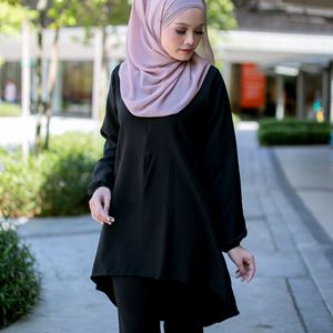 BLOUSE FELISHA - BLACK