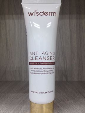 NEW Wisderm Anti Ageing Cleanser