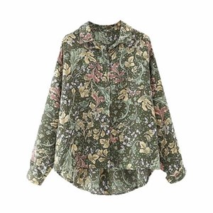 CLASSIC FLORAL PRINTS OVERSIZED TOP