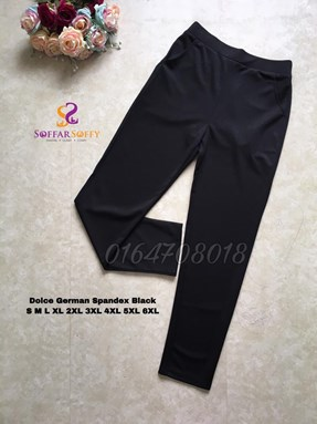 DOLCE GERMAN SPANDEX BLACK