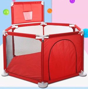 2 in 1 Hexagon baby playpen ( excluding ball )