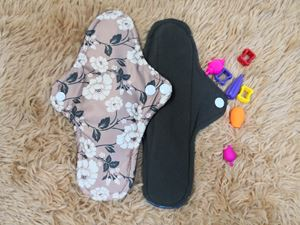 Cloth Pad - Floral ( Down To Earth) Size M