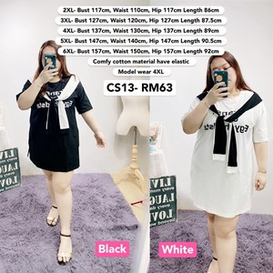 CS13 Ready Stock *Bust 46 to 62 inch/ 117-157cm
