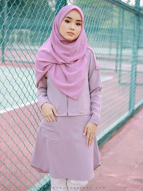 Ezy blouse (dusty purple)