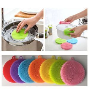 silicone kitchen sponge