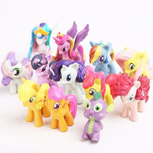 My Little Pony Mini Figures 12pcs