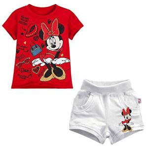 @  MINNIE RED + WHITE PANT