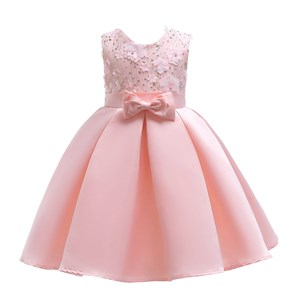 TONG TONG MI PINK DRESS  SZ 100 ( 2-3Y )
