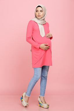 Daissy Blouse - Pink Coral