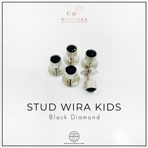 Gentlemen Stud Wira Kids Black Diamond  (5 button)
