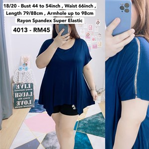4013 *Bust 44 to 54 inch/ 112 - 137cm