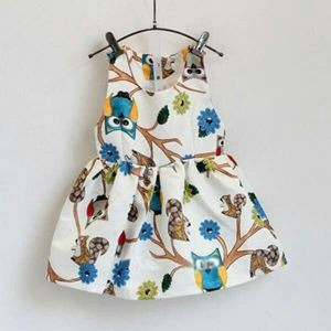 BABY OWL  DESIGN DRESS