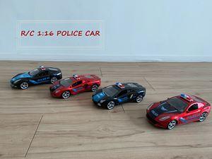 R/C 1:16 POLICE CAR
