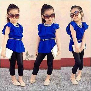 Korean Girl Set - Blue