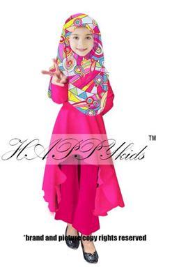 Palazo Set & Pucci For Kids - Pink