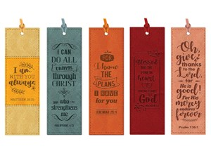 Lux-Leather Bookmarks