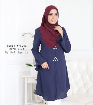 Tunic Afiyya Dark Blue