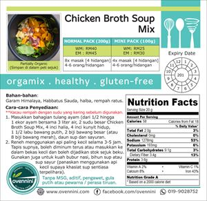 Chicken Broth Soup (Spices Only)