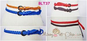 BLT37 - Plussize Thin Braided Belt