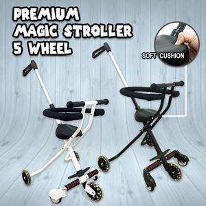 PREMIUM MAGIC STROLLER 5 WHEEL
