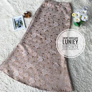 Skirt Brocade Luniey Brown