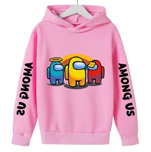 Among US Unisex Sweater [  PINK  ]   ( 100-110-120-130-140-150-160cm )