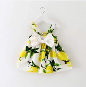 CUTE YELLOW FLOWER DRESS
