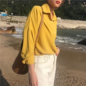 Jenny Korean Plain Shirt