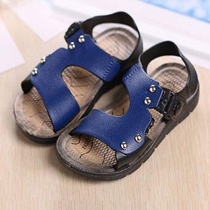 BB54 ( 2 )  KIDS SANDALS  ( BLUE )