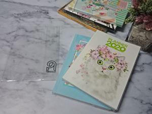 PLASTIK COVER BUKU PLANNER