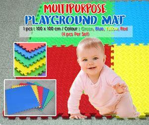 Multipurpose 4PC Set Playground Mat