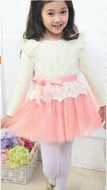 Pink Pettiskirt Girls Dress