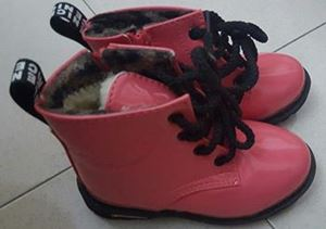 PINK BOOT SHOES