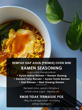 Ramen Noodles Healthy Seasoning/ Ayam Ramen / Ramen Goreng