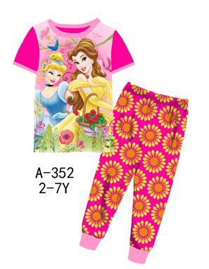 A-352 'Princess' Pyjamas (2 - 7 tahun)