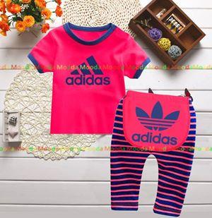 Baby Pyjamas - Pink Adidas