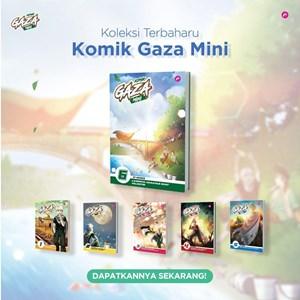 Qissara HQ STOK : SIRI KOMIK GAZA 1-6