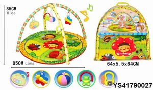 BABY FITNESS PLAY MAT WITH MUSIC