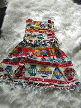 GIRL DRESS 1 PCS SET ( SET 7 ) SZ S-L