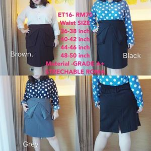 ET16*Ready Stock *Waist 36 to 50inch/91-127cm