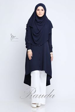 BLOUSE RAUDA - DARK BLUE