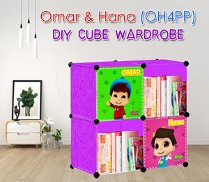 Omar & Hana (OH4PP) 4C DIY CUBE WARDROBE