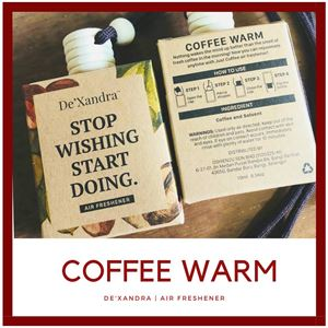 COFFEE WARM - AIR FRESHENER (10 ML)