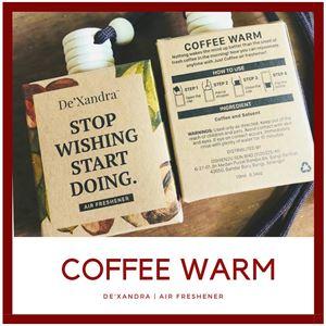 COFFEE WARM - AIR FRESHENER (10 ML)