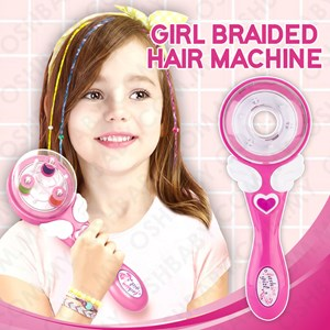 GIRL BRAIDED HAIR MACHINE